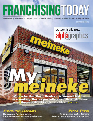 Franchising Today cover